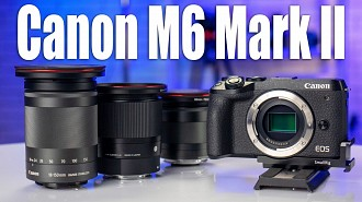 Обзор объективов для Canon M6 Mark II: Canon EF-M 11-22mm f/4.0-5.6 IS STM, Canon EF-M 18-150mm f/3.5-6.3 IS STM, Sigma 30mm f/1.4 DC DN Canon EF-M