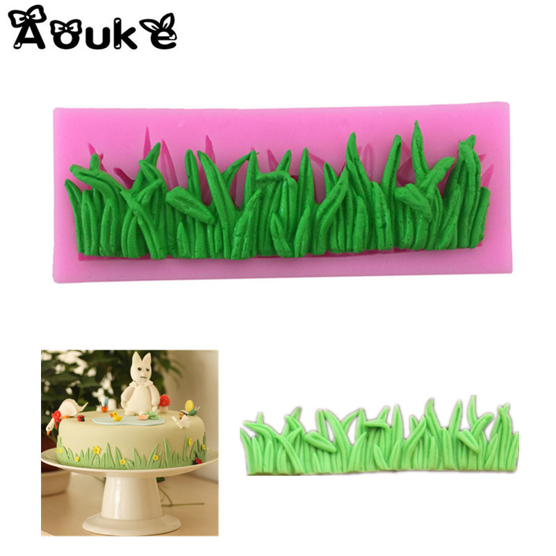 Grass Shape Cake Decorative Silicone форма для травы